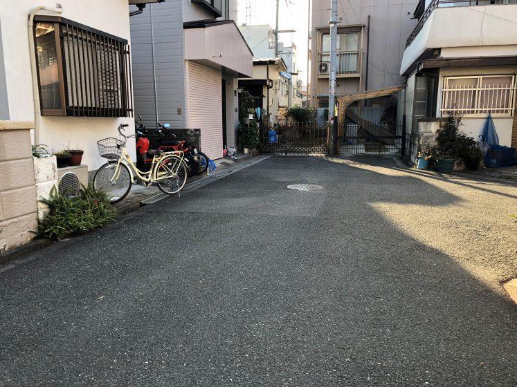 花子、土地下見に行く。
