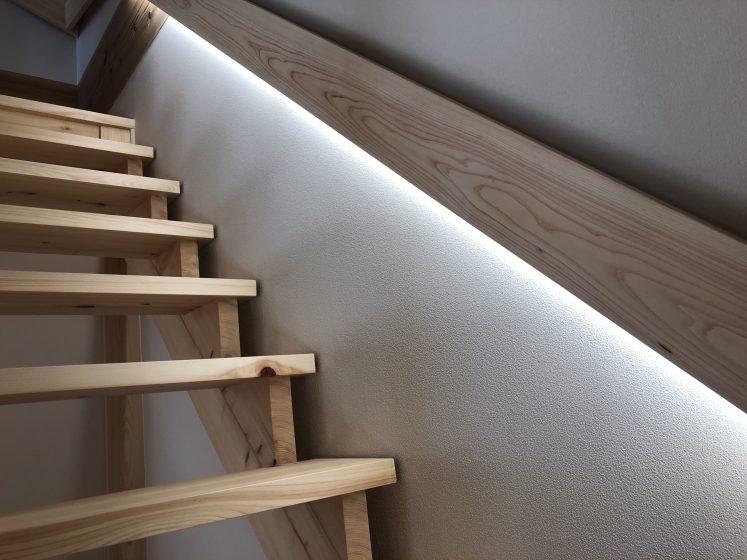 階段照明できました!