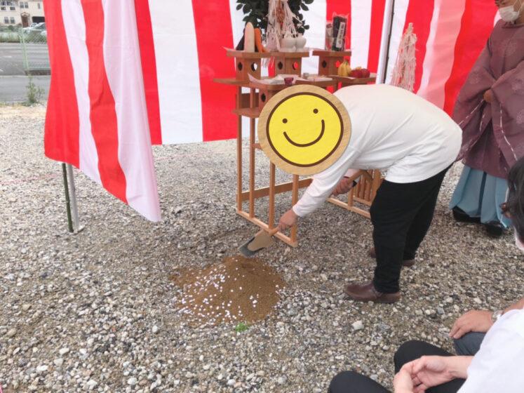 寝屋川市池田のお家 地鎮祭