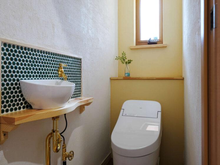 造作のご紹介~トイレの手洗いコーナー~